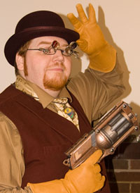 Steampunk Gneech, once again steampunky!