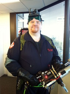 Gneech the Ghostbuster