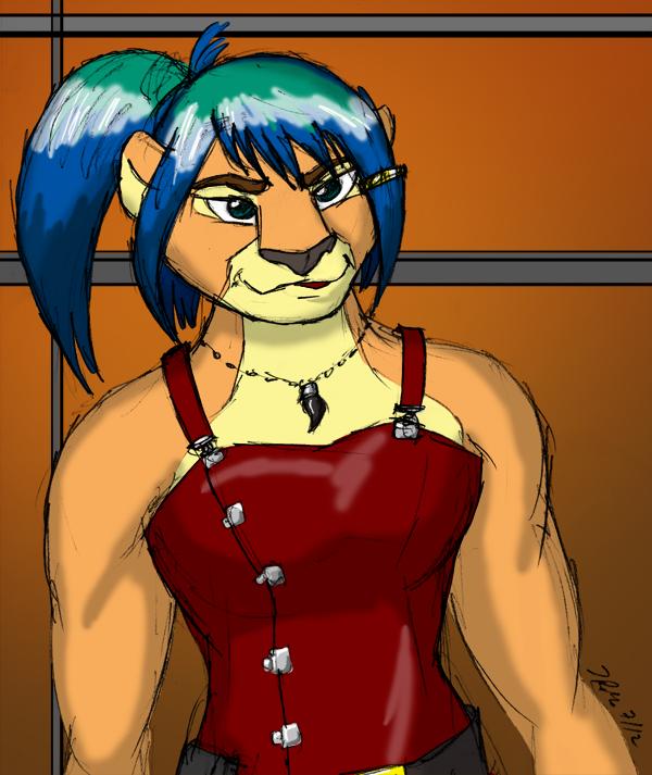 Tanya, colored!