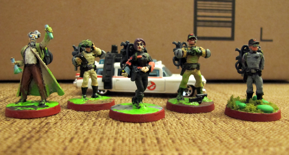Gneech miniatures after a few sessions of the savage world of ghostbusters using the closest minis i had on hand i decided i had to have proper gb minis publicscrutiny Image collections