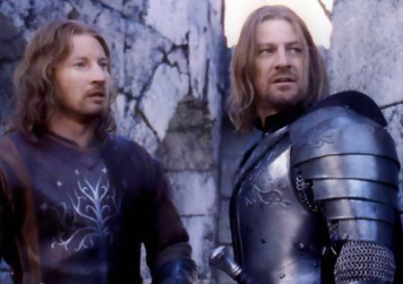 Faramir and Boromir wonder WTF is that?