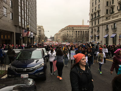 14th Street, Women's March 2017