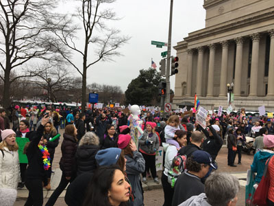 7th and Pennsylvania Avenue, Women's March 2017